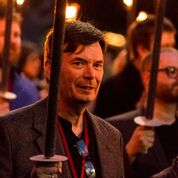Ian Rankin torchlight procession