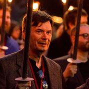 Ian Rankin torchlight procession
