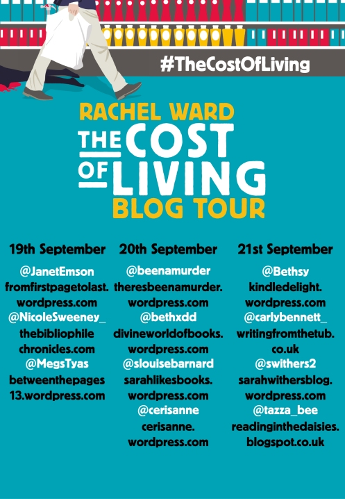 The Cost of Living Blog Tour Banner