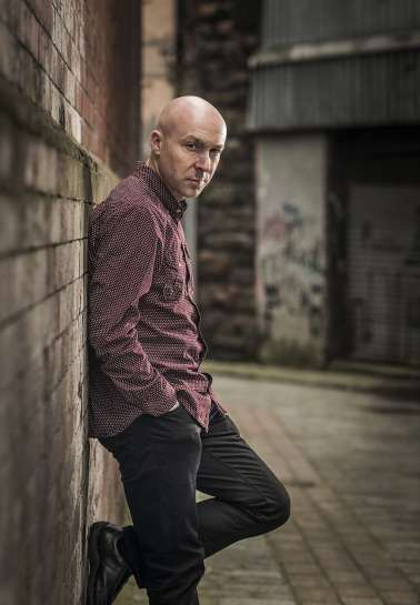 GN 2018 author Chris Brookmyre