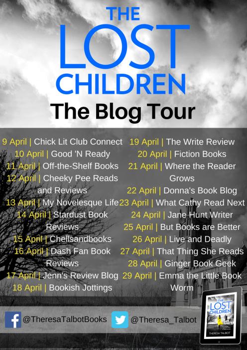 The Lost Children blog tour banner