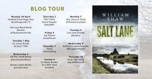 Salt Lake Blog Tour Poster