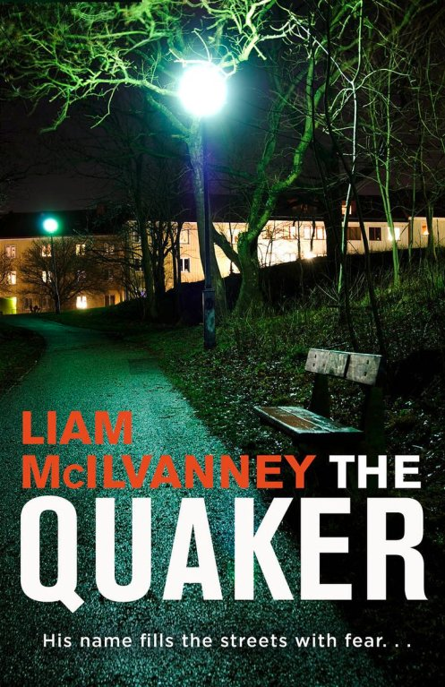 jacket cover of the quaker by Liam mcilvanney
