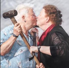 Val McDermid and Sue Black c.Chris Close