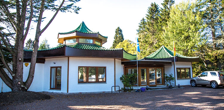 The Pagoda Building, Grantown on Spey