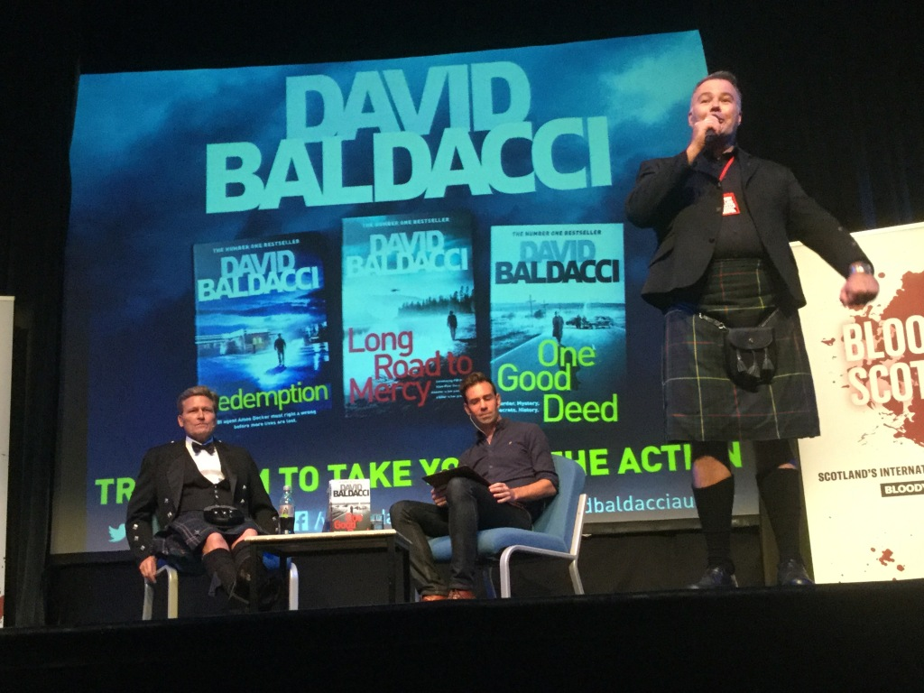 Bloody Scotland Director, Bob McDevitt introduces David Baldacci