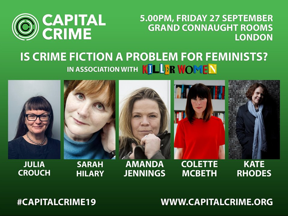 Killer Women image of Julia Crouch, Sarah Hilary, Amanda Jennings, Colette McBeth and Kate Rhodes