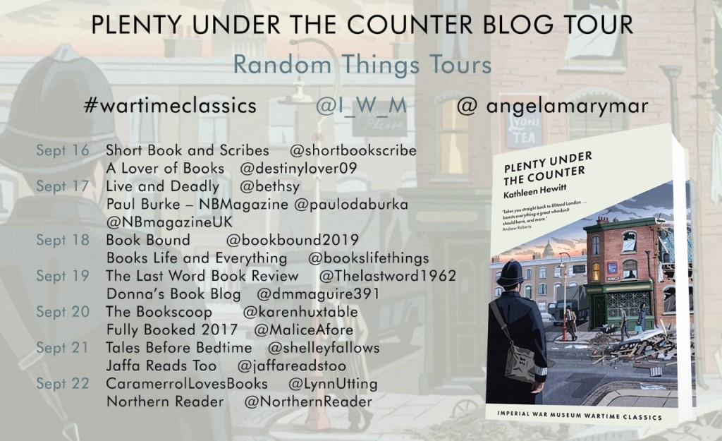 List of those participating in the blog tour, with the url's for each blog