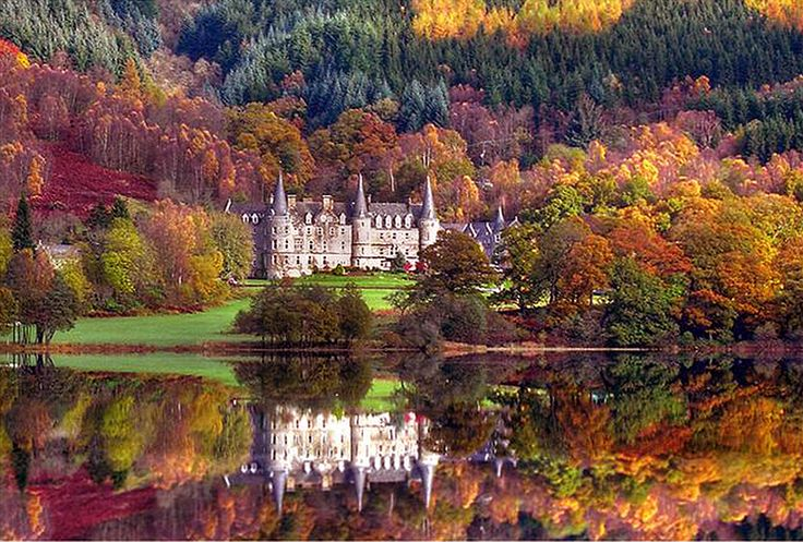 Highland autumnal scene