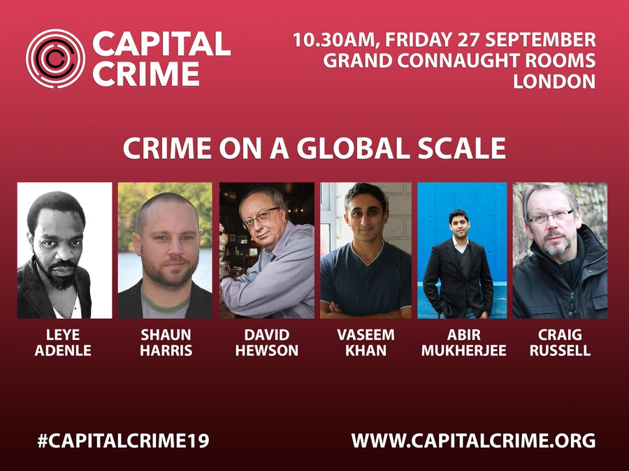 Banner ad for Crime on a Global Scale